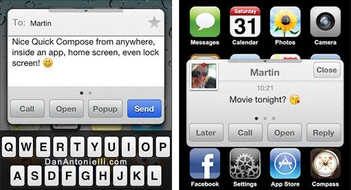 Must Have Cydia Tweaks for iOS 5 - January 2012 - Dan Antonielli